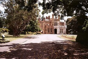 Government House near the Botanic gardens
