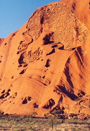 Ayers Rock / Uluru - Skull Cave