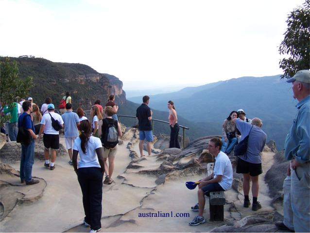 Blue Mountains Scenic Viewing Pltform, NSW Australia