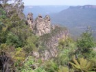 Three Sisters - A famous rock formation in the Blue Mountains