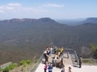 Echo Point observation platform and magnificent views of the Jamison Valley