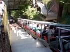 Boarding platform of the Katoomba Scenic Railway