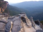Panoramic view of Blue Mountains, New South Wales Australia
