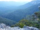 Eucalyptus oil evaporating from the many gum trees - Blue Mountains Australia