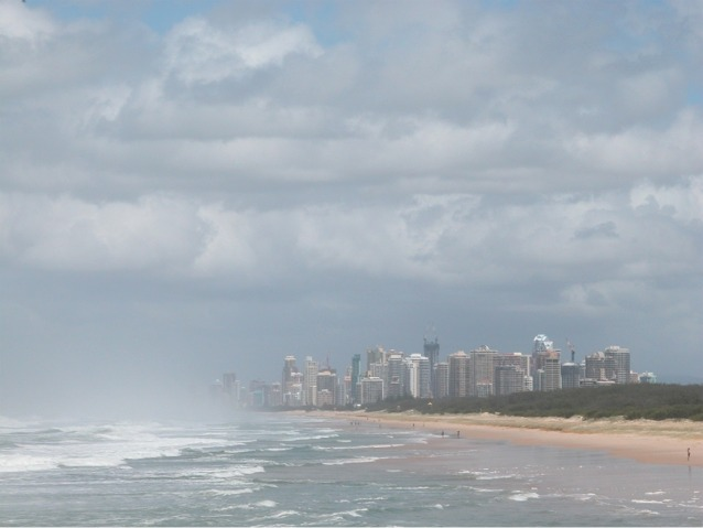 Gold Coast, Queensland (from The Spit)