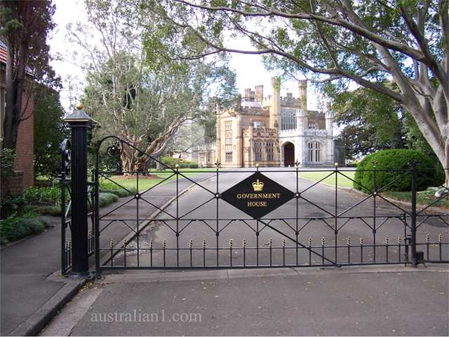 Government House Sydney NSW Australia