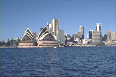 The Sydney Australia Skyline