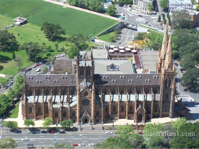 St Mary's Cathedral in Sydney Australia