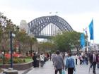 Sydney Harbour Bridge & Circular Quay (West)