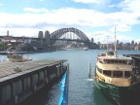 Sydney Harbour Bridge and Sydney Ferry