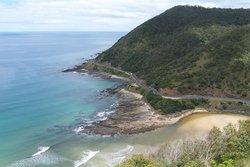 Great Ocean Road South of Lorne, Victoria, Australia